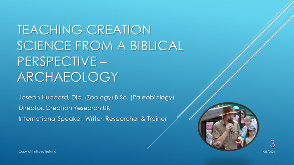 Biblical Archaeology VOD Webinar