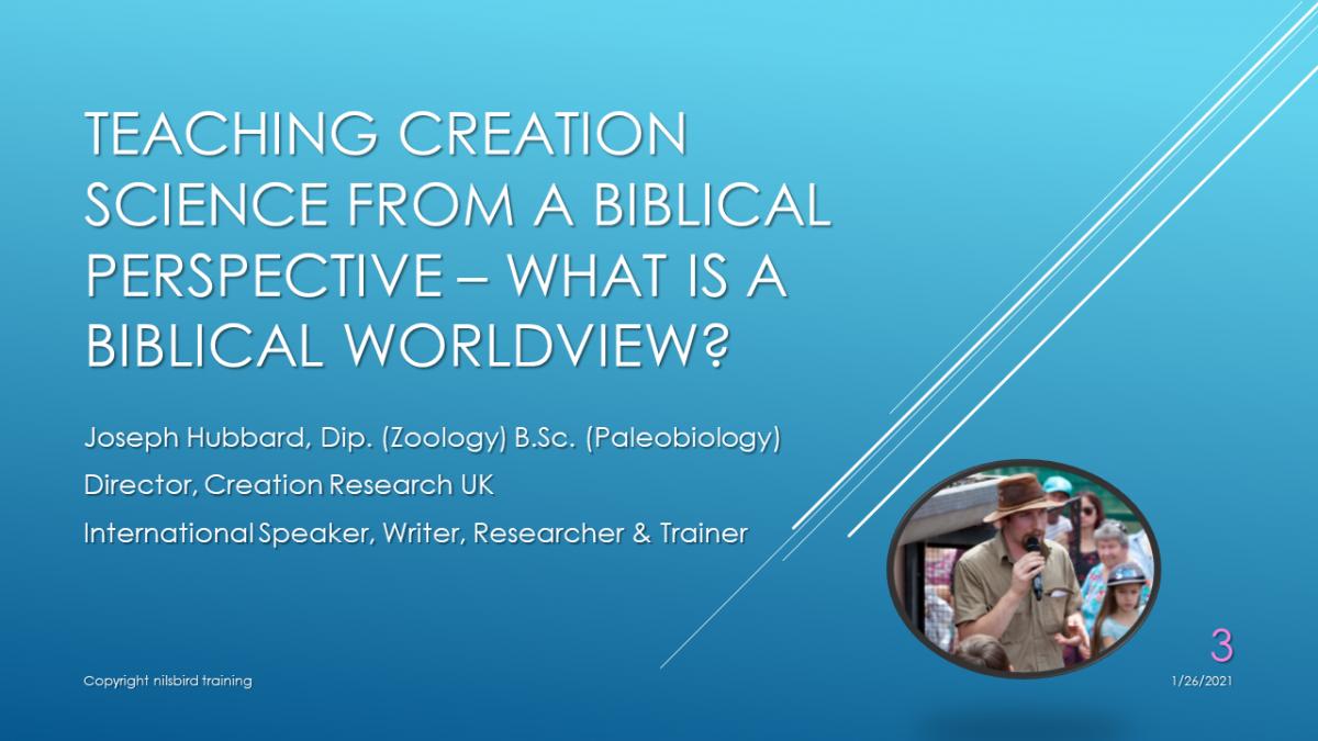 What is a Biblical Worldview? VOD Webinar
