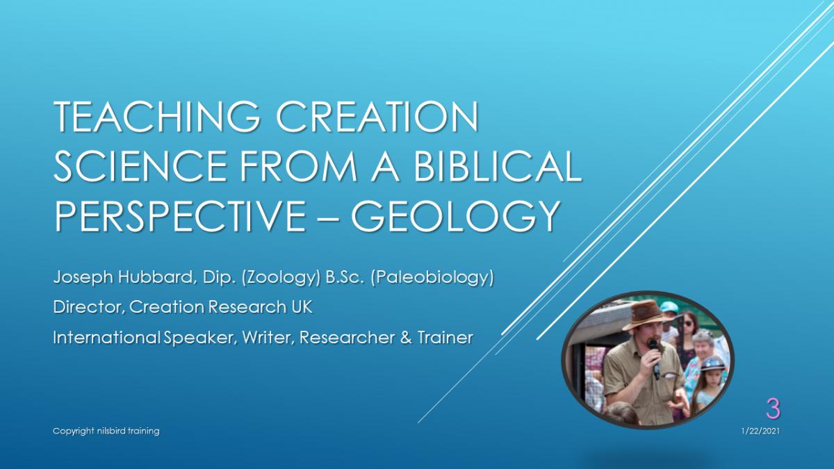 Geology VOD Webinar